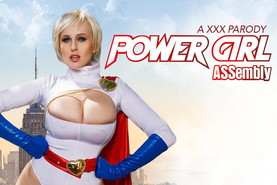 Vrcosplayx powergirl assembly parody with busty angel wicky 5